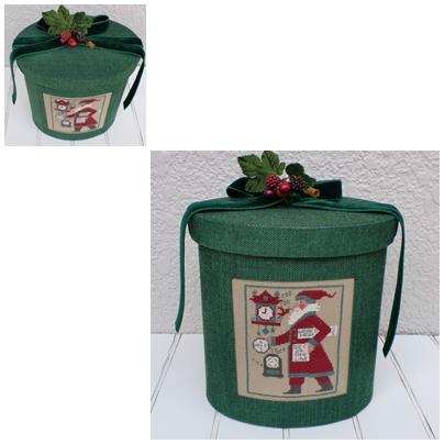 クリスマスオーバルボックス