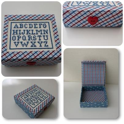 アルファベット小箱